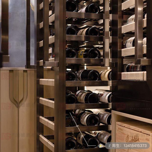 不锈钢酒窖酒架