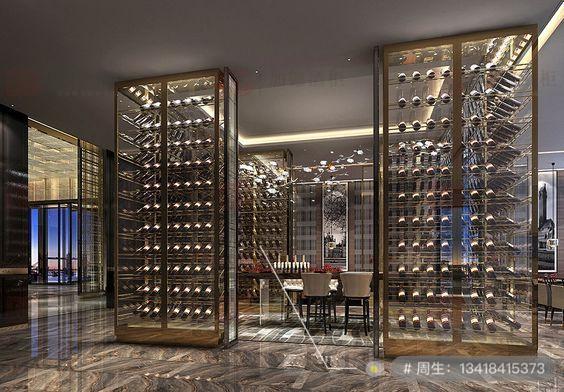餐厅酒柜定制